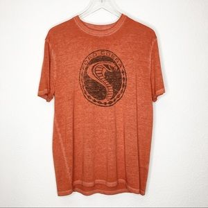 NWT Lucky Brand Ford Mustang Burnout Graphic Tee